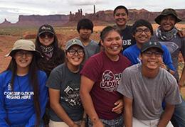 Canyon de Chelly Navajo crew