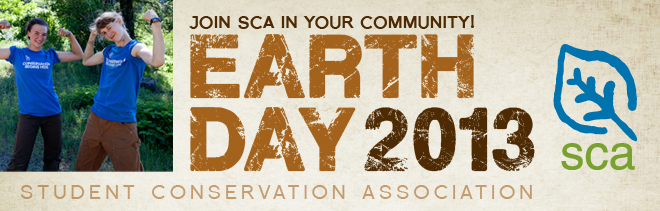 Earth Day email banner