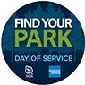 Find Your Park Sticker image
