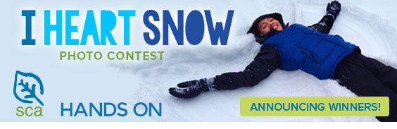 Snow Contest Hands On Banner winners