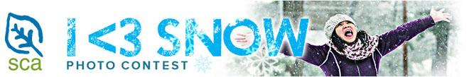 I <3 Snow Banner