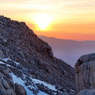 Sunset on Mt. Whitney