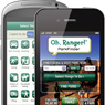 Oh, Ranger! app on phones