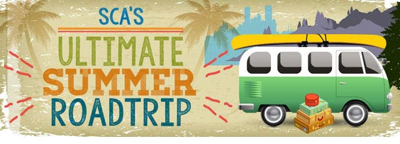Hands On Road Trip 2015 Banner w/canvas