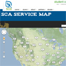 SCA Service Map