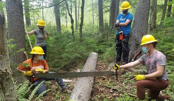Adirondack Corps at Work