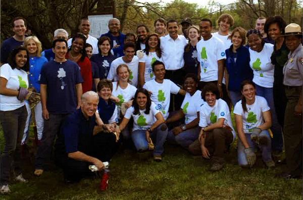 Joe Biden with SCA