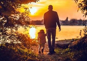 A Family Walking