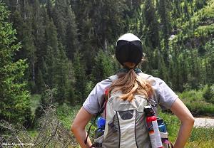 Summer Hiker photo