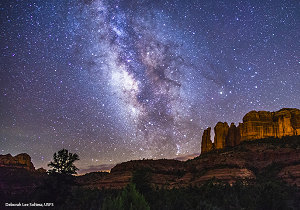 Sedona night sky photo