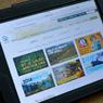 SCA website on tablet